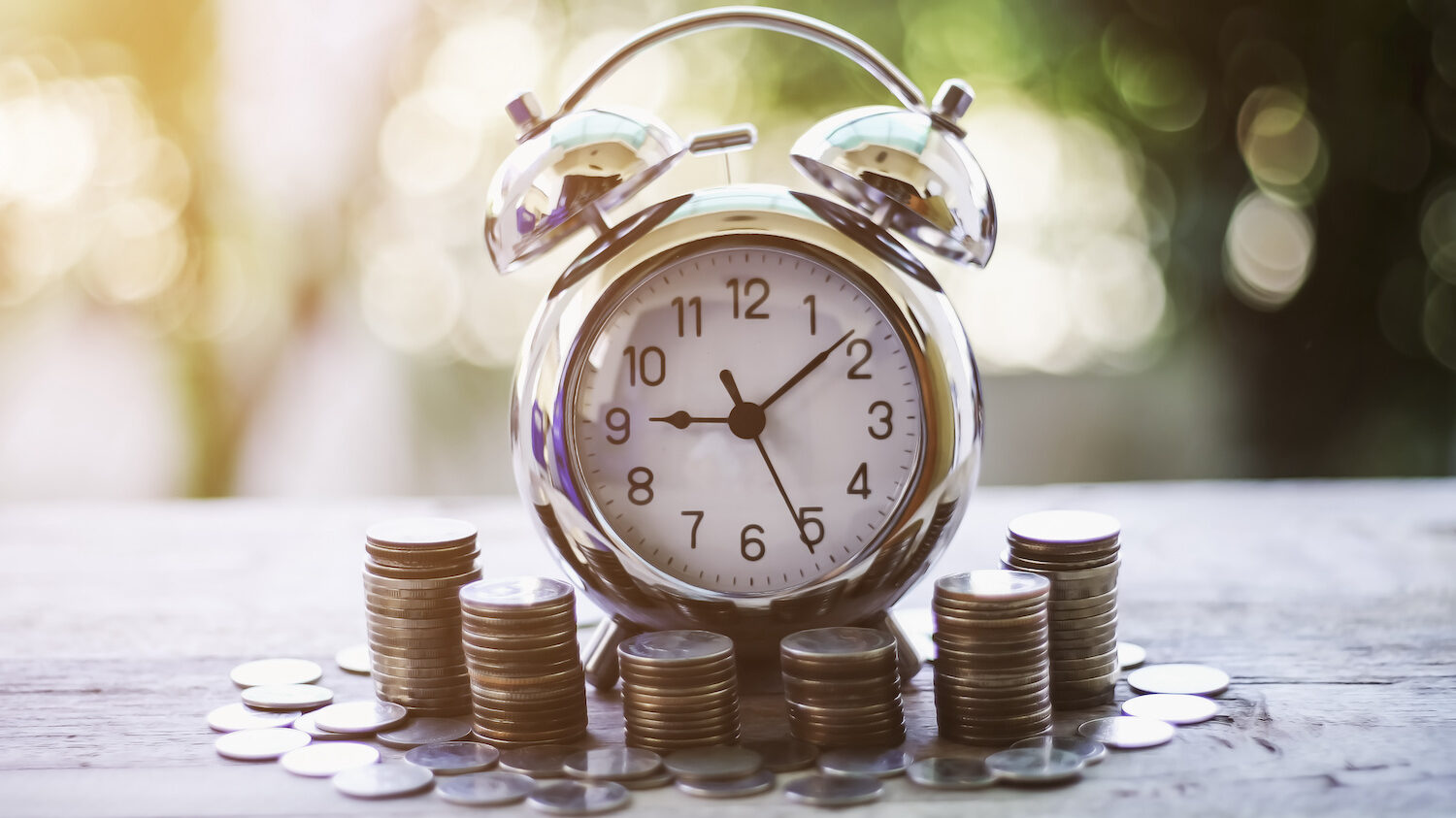 Waiting for the time when your finances are prefect